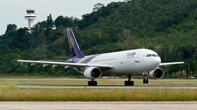 HS-TAG - Airbus A300B4-605R - Thai Airways International