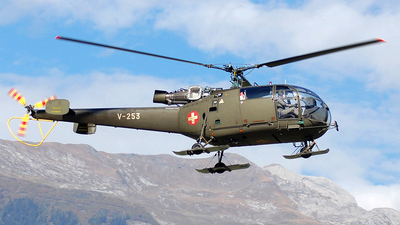 V-253 - Aérospatiale SA 316B Alouette III - Switzerland - Air Force
