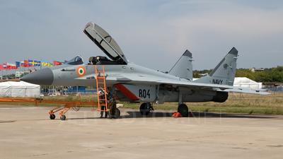 804 - Mikoyan-Gurevich MiG-29K Fulcrum D - India - Navy
