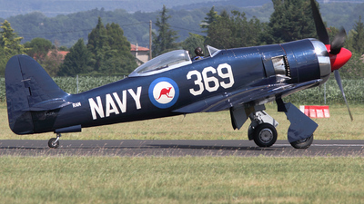 F-AZXL - Hawker Fury FB.11 - Private