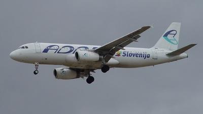 S5-AAB - Airbus A320-231 - Adria Airways