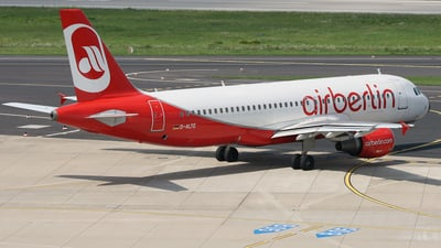 D-ALTE - Airbus A320-214 - Air Berlin (LTU)