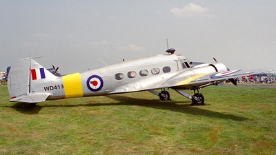 G-VROE - Avro 652A Anson T.21 - Private