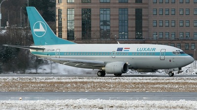 LX-LGN - Boeing 737-59D - Luxair - Luxembourg Airlines