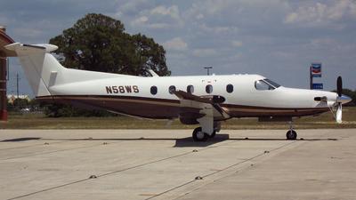 A picture of N58WS - Pilatus PC12/47E - [1096] - © Michael K