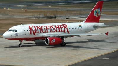 VT-KFJ - Airbus A319-132 - Kingfisher Airlines