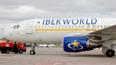 EC-IEQ - Airbus A320-214 - Iberworld Airlines