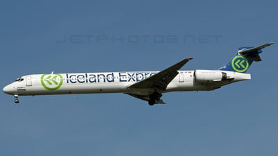 HB-JIF - McDonnell Douglas MD-90-30 - Iceland Express (Hello)