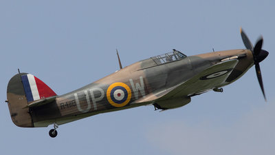 G-HUPW - Hawker Hurricane Mk.I - Private