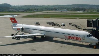 HB-ISX - McDonnell Douglas MD-83 - Swiss