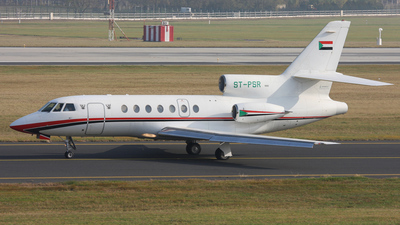 A picture of STPSR - Dassault Falcon 50 - [114] - © Ferenc Kolos
