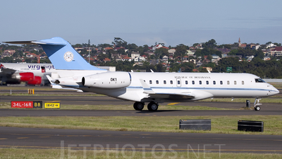 OK1 - Bombardier BD-700-1A10 Global Express XRS - Botswana - Government
