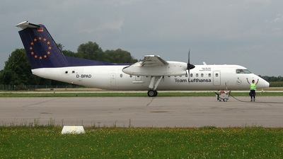 D-BPAD - Bombardier Dash 8-Q314 - Team Lufthansa (Augsburg Airways)