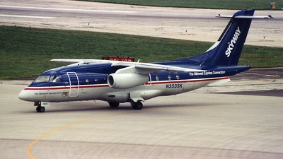 N353SK - Dornier Do-328-300 Jet - Midwest Express Connection (Skyway Airlines)