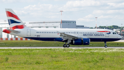 F-WWBB - Airbus A320-232 - British Airways
