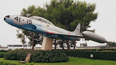 E.15-43 - Lockheed T-33A Shooting Star - Spain - Air Force