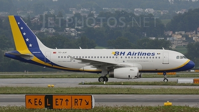 TC-JLR - Airbus A319-132 - BH Airlines