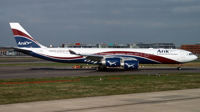 CS-TFW - Airbus A340-542 - Arik Air (Hifly)