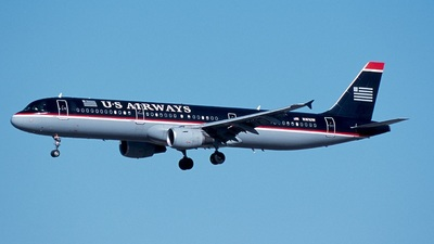 N161UW - Airbus A321-211 - US Airways