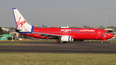 VH-VUJ - Boeing 737-8FE - Virgin Blue Airlines