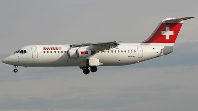 HB-IXS - British Aerospace Avro RJ100 - Swiss