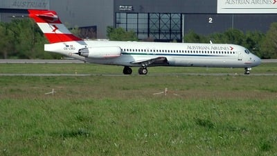 OE-LMO - McDonnell Douglas MD-87 - Austrian Airlines