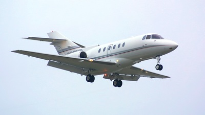 N88HD - Raytheon Hawker 800XP - Private