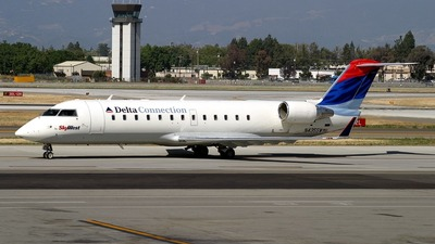 N435SW - Bombardier CRJ-200LR - Delta Connection (SkyWest Airlines)