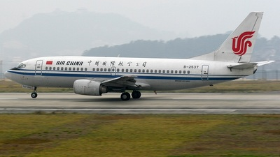 B-2537 - Boeing 737-3Z0 - Air China