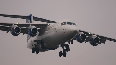 OO-DJY - British Aerospace Avro RJ85 - SN Brussels Airlines