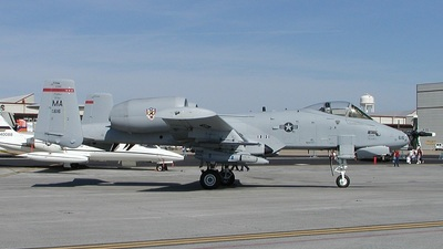 78-0616 - Fairchild A-10A Thunderbolt II - United States - US Air Force (USAF)
