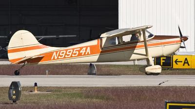 N9954A - Cessna 170A - Private