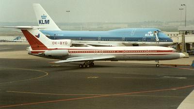 OK-BYD - Tupolev Tu-154B-2 - Czechoslovakia - Government Flying Service