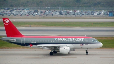 N336NB - Airbus A319-114 - Northwest Airlines