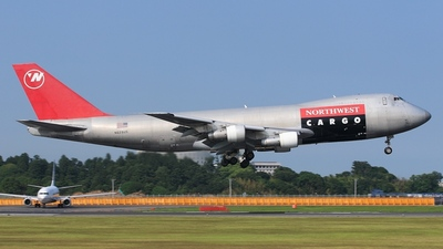 N629US - Boeing 747-251F(SCD) - Northwest Airlines
