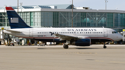 N817AW - Airbus A319-132 - US Airways (America West Airlines)