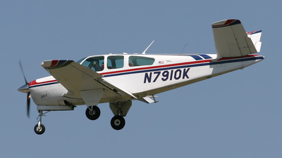 N7910K - Beechcraft 35 Bonanza - Private