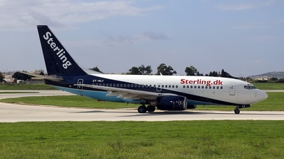 OY-MLY - Boeing 737-73S - Sterling Airlines