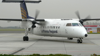 D-BACH - Bombardier Dash 8-Q314 - Lufthansa Regional (Augsburg Airways)