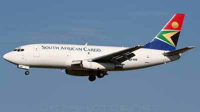 ZS-SID - Boeing 737-244(Adv)(F) - South African Cargo
