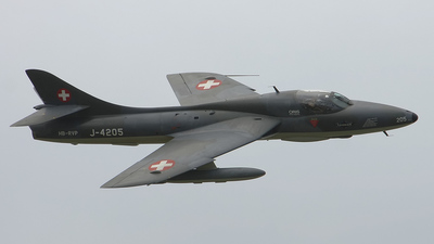 HB-RVP - Hawker Hunter T.68 - Fliegermuseum Altenrhein
