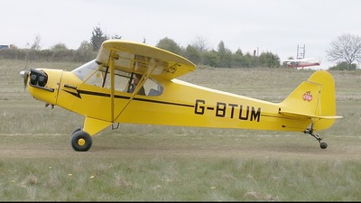 G-BTUM - Piper J-3C-65 Cub - Private