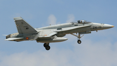 C.15-87 - McDonnell Douglas F/A-18A+ Hornet - Spain - Air Force