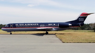 N885US - Fokker 100 - Alliance Airlines