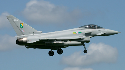ZJ929 - Eurofighter Typhoon F.2 - United Kingdom - Royal Air Force (RAF)