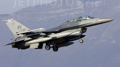 90-0796 - General Dynamics F-16DG Fighting Falcon - United States - US Air Force (USAF)
