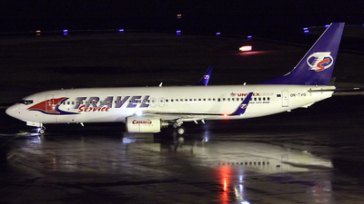 OK-TVG - Boeing 737-8Q8 - Travel Service