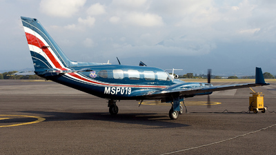 MSP019 - Piper PA-31-350 Panther Navajo - Costa Rica - Ministry of Public Security