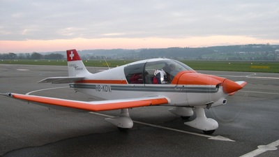 HB-KDV - Robin DR400/140B Dauphin - Flugschule Grenchen