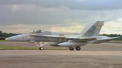 KAF425 - McDonnell Douglas F/A-18 Hornet - Kuwait - Air Force